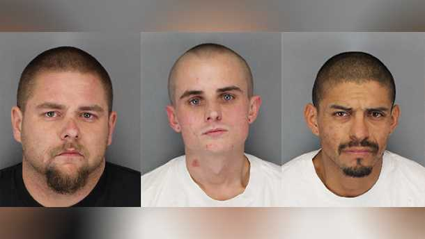 3 arrested in Lodi after jumping into river during police chase. Dec. 23, 2016.