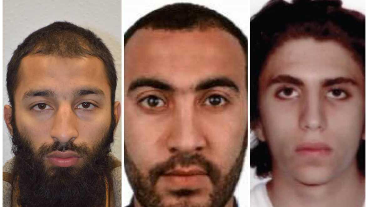 Khuram Shazad Butt, Rachid Redouane and Youssef Zaghba