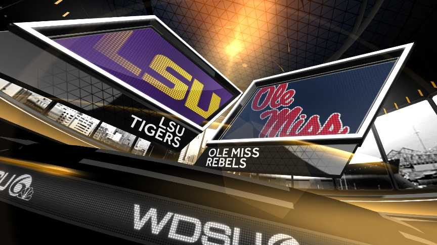 LSU vs Ole Miss