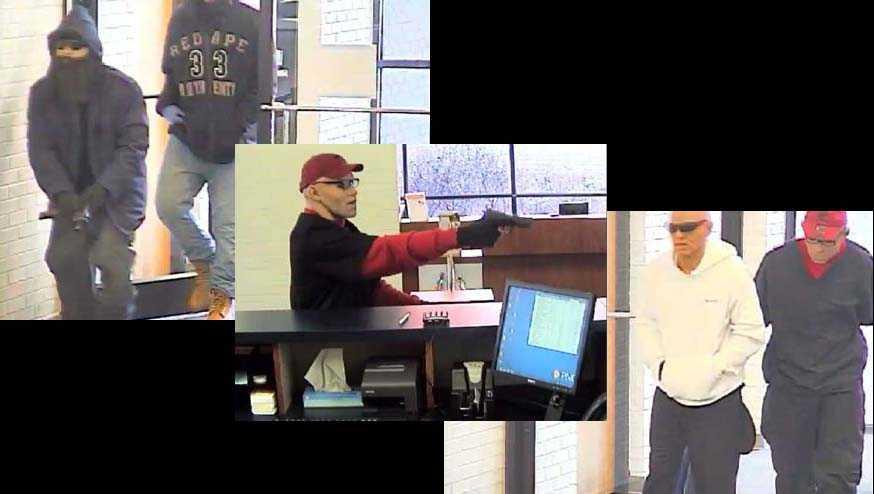Lumberton bank robbery