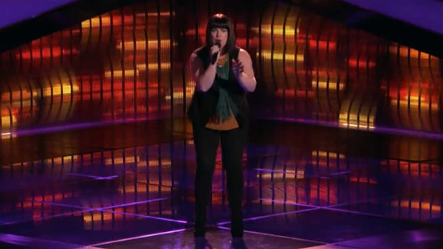 "Missy Robertson performs on NBC's ""The Voice"" on Monday, March 6, 2017."