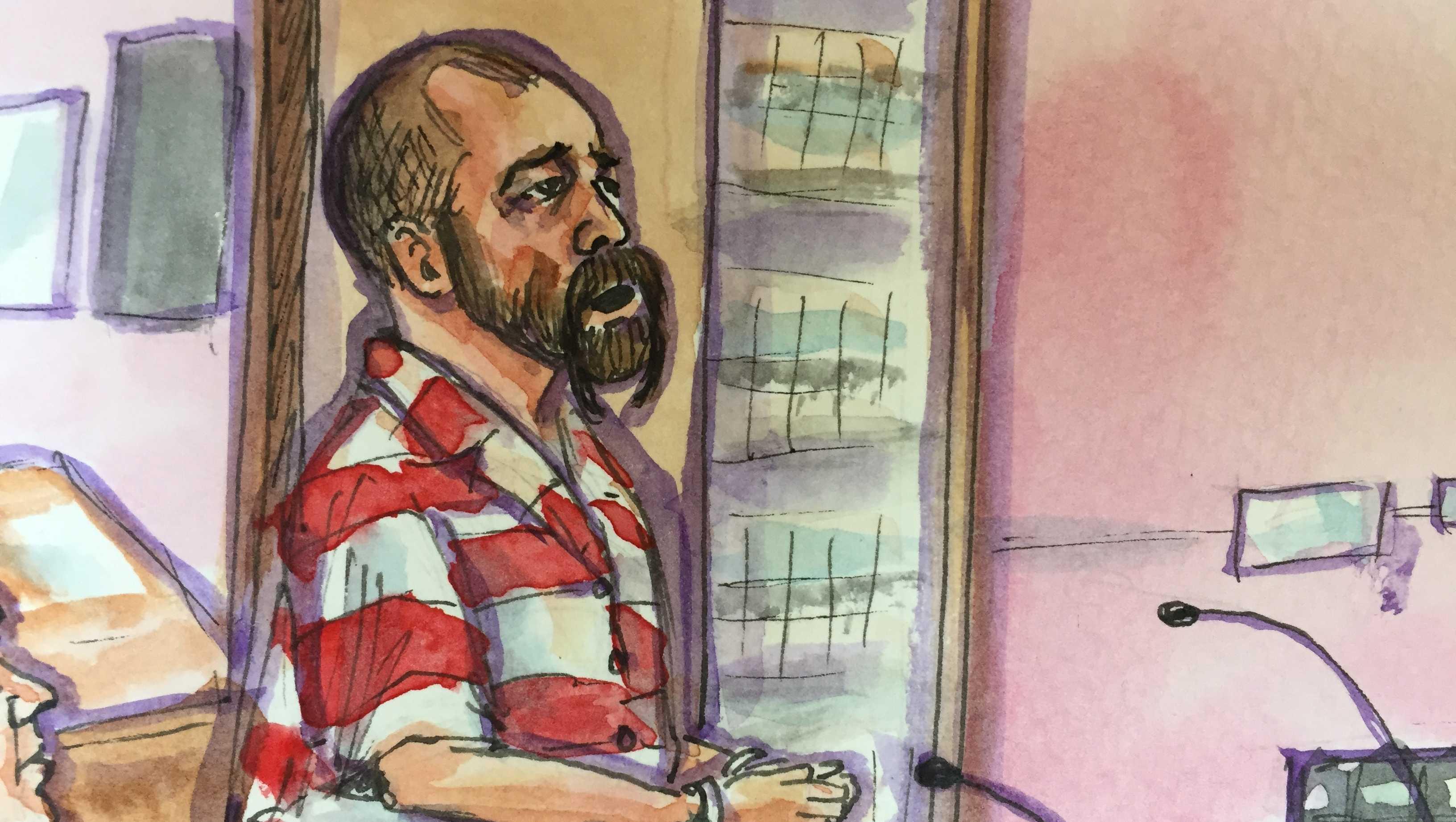 David Machado in court (Nov. 21, 2016)