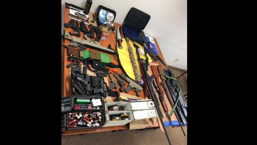 Weapons seized after hit list is found