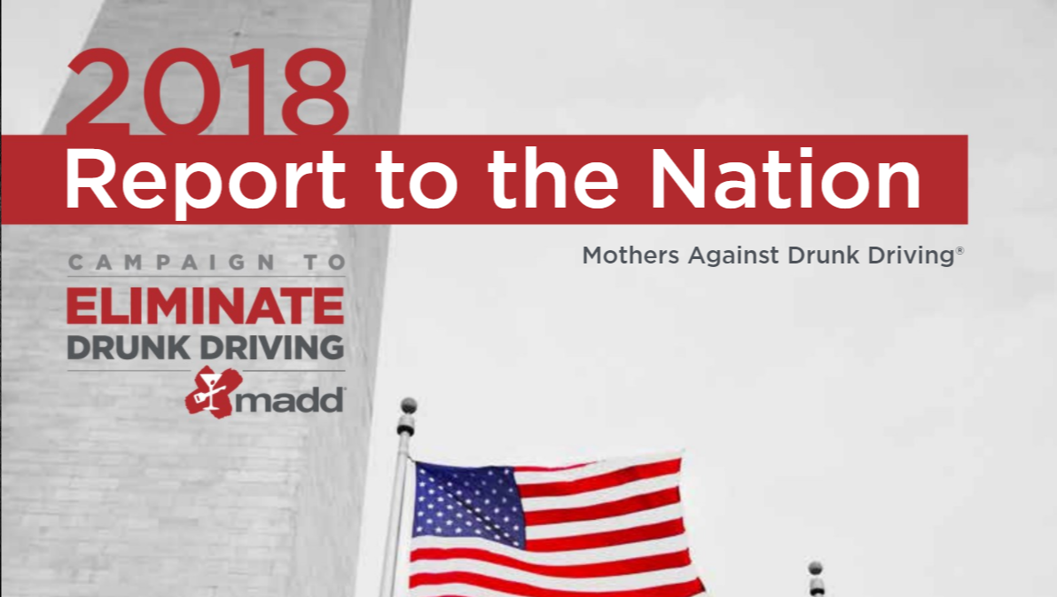 MADD releases national report