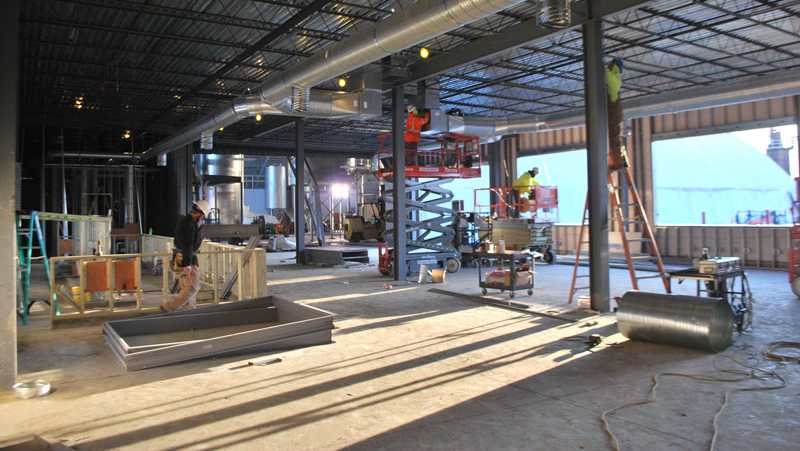 Madtree Brewing is expected to open their new brewery Feb. 11, 2017.