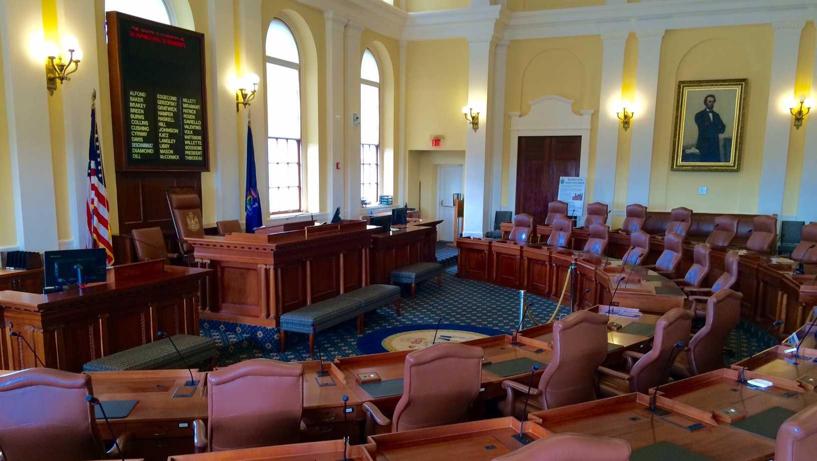 Maine Senate Chambers
