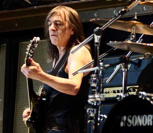 When Malcolm Young, AC/DC Played With The Rolling Stones