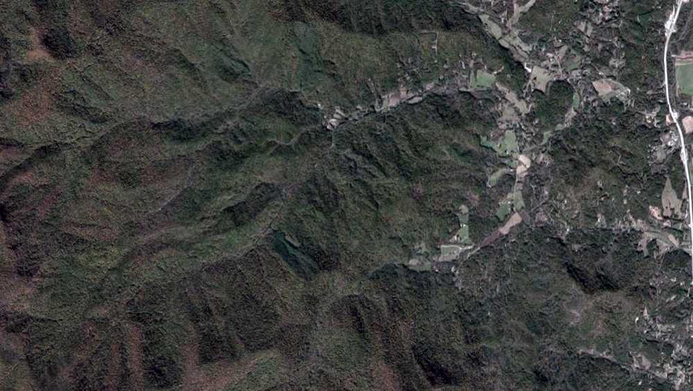Albert Mountain area