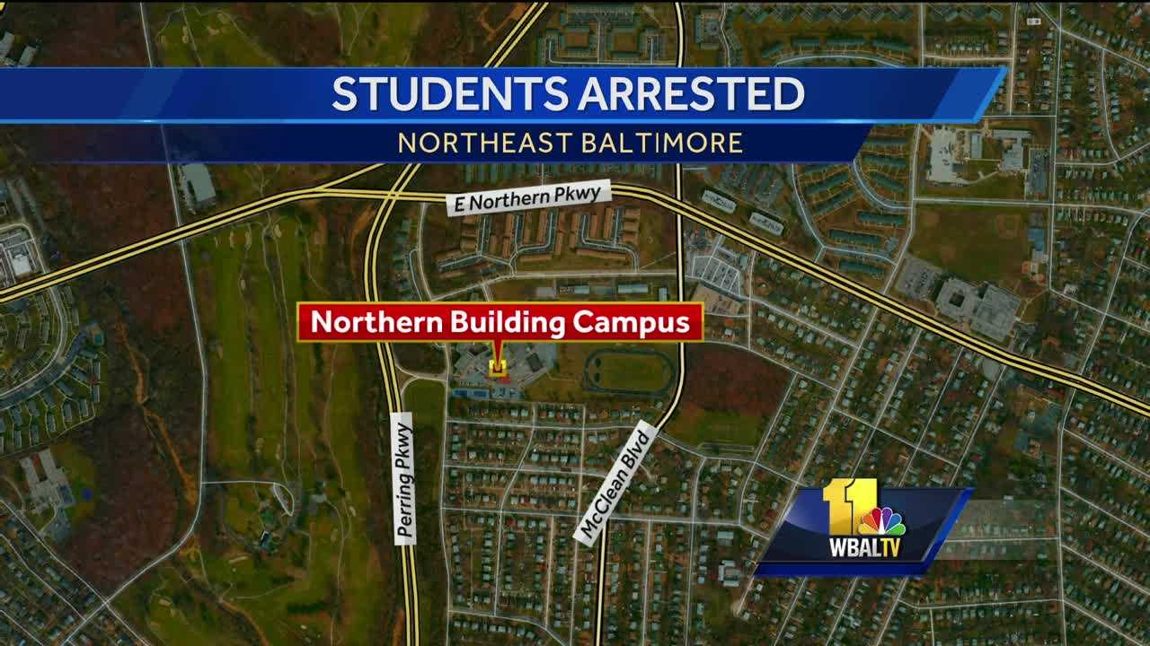 Northern Building Campus gun arrest