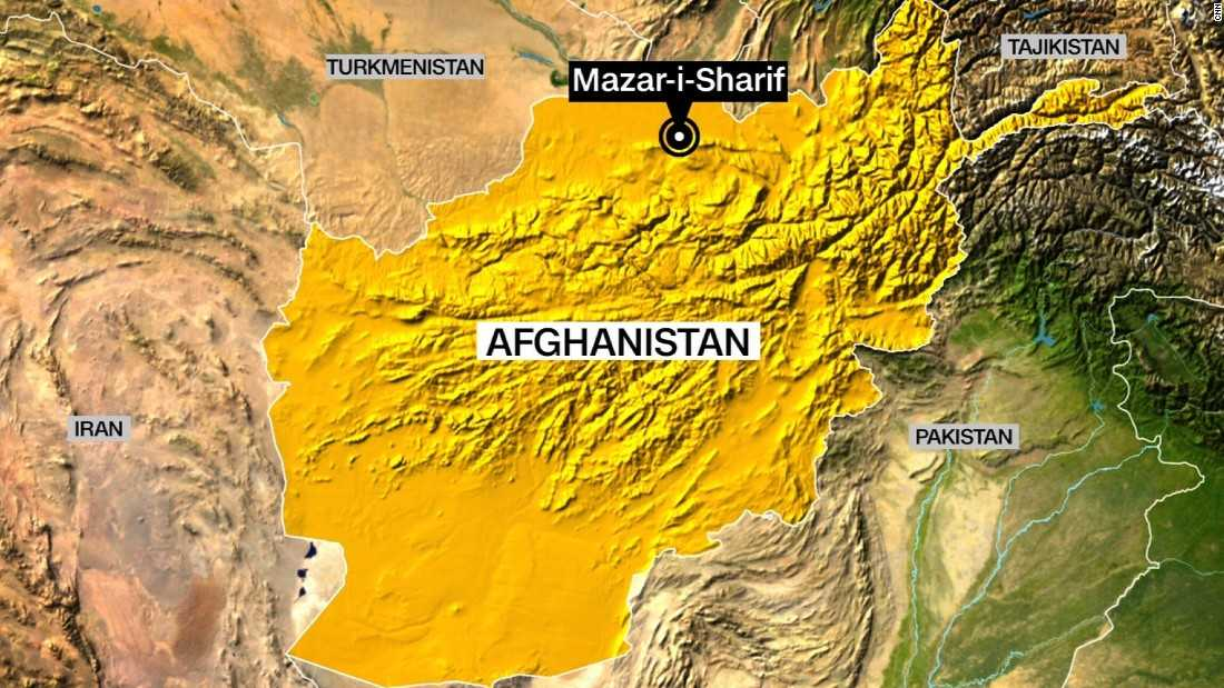 US Military Service Members Wounded In Insider Attack In Afghanistan