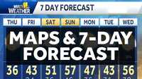 WBAL-TV 11 Weather Maps and 7-Day Forecast