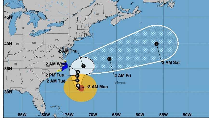Maria Crop Resize Mandatory Evacuation Issued Hatteras Island