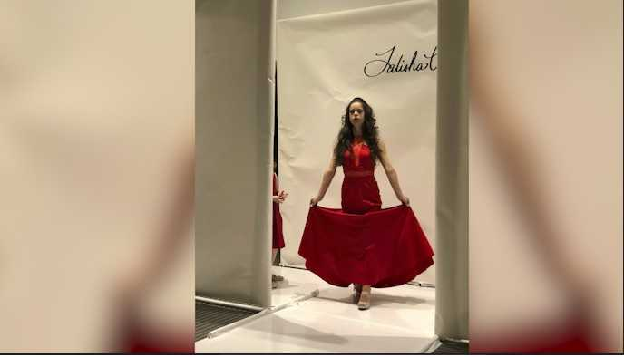 'There are no barriers': A model with Down syndrome fulfills her fashion week dream