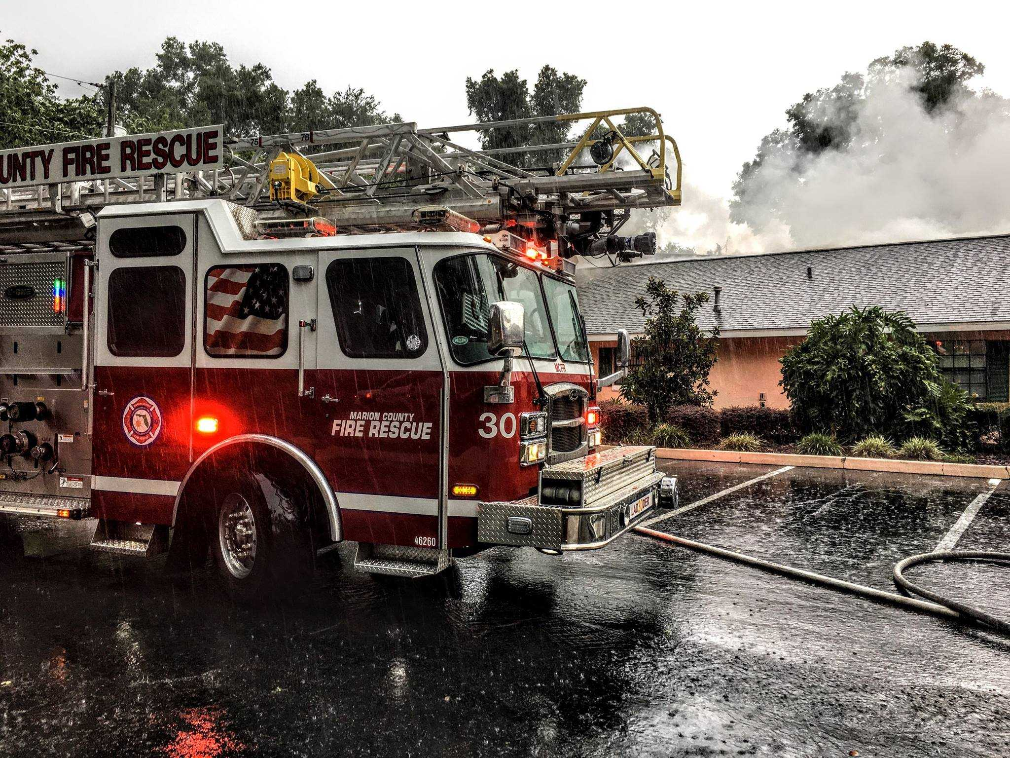Fire At Belleview Assisted Living Facility Displaces 56