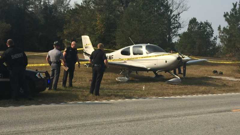 Plane makes emergency landing on Hwy. 378 in Marion County