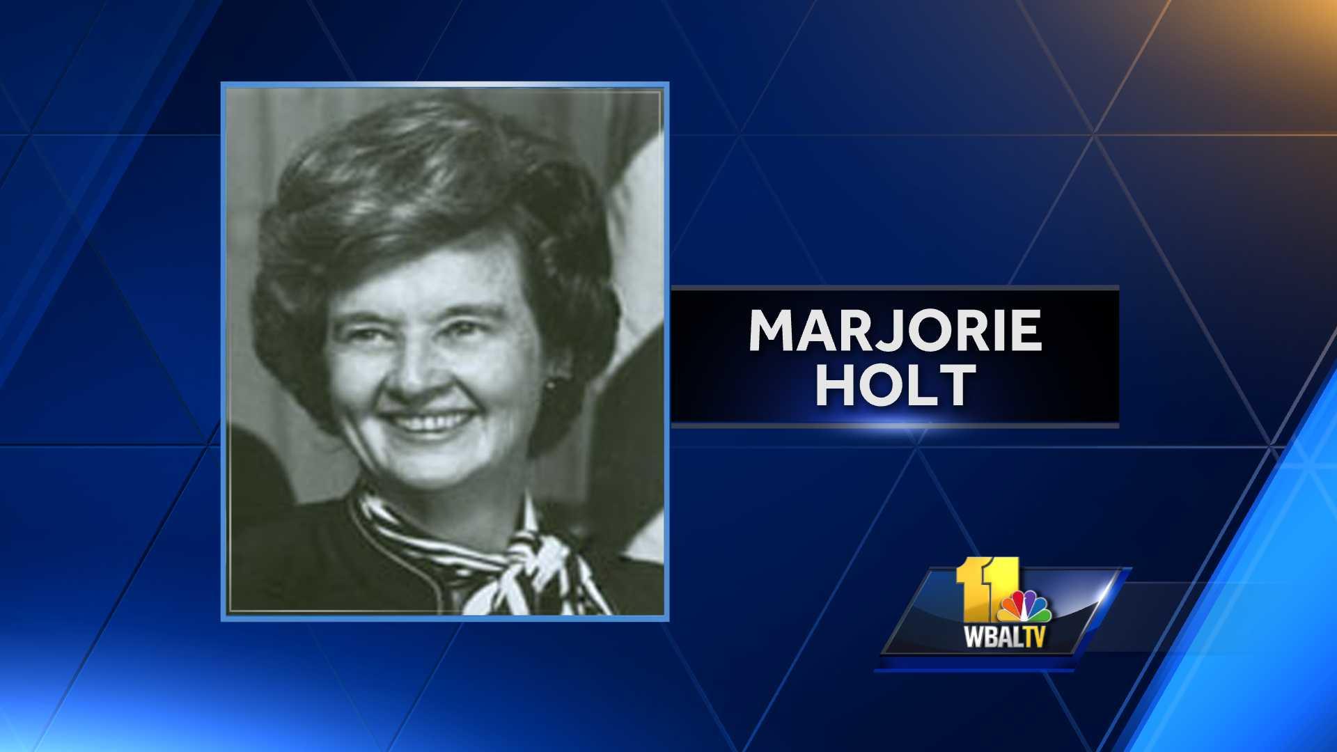 Former Rep. Marjorie Holt