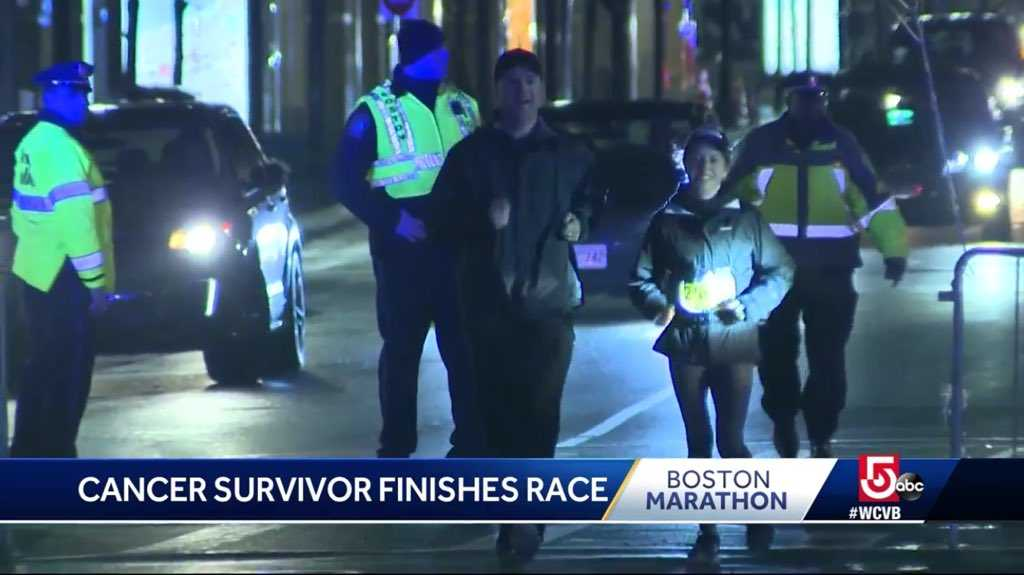 Cancer survivor completes inspiring Marathon run in 13 hours
