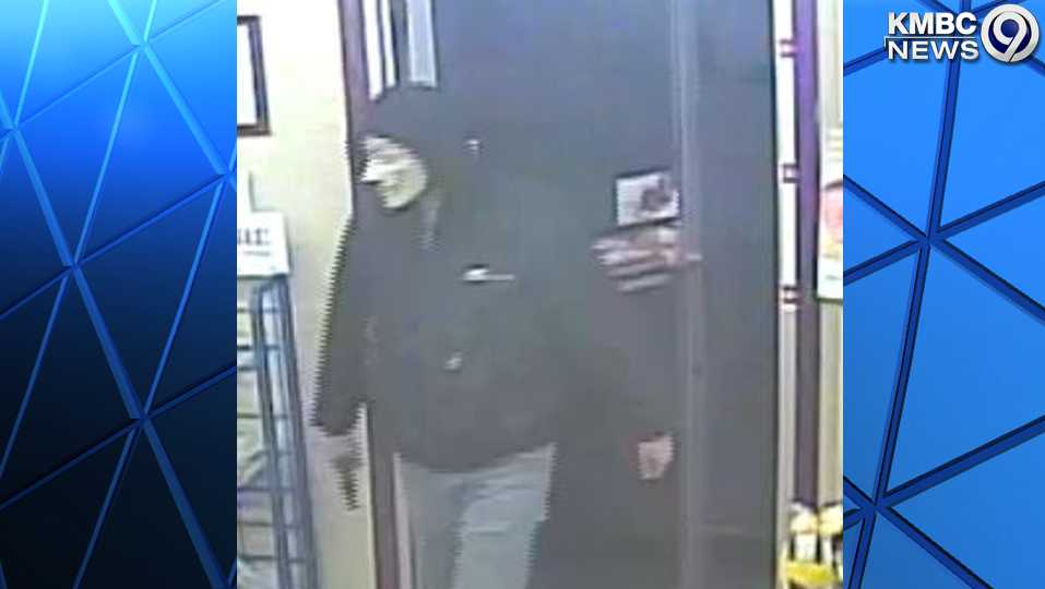 Armed masked man robs Casey's in Richmond