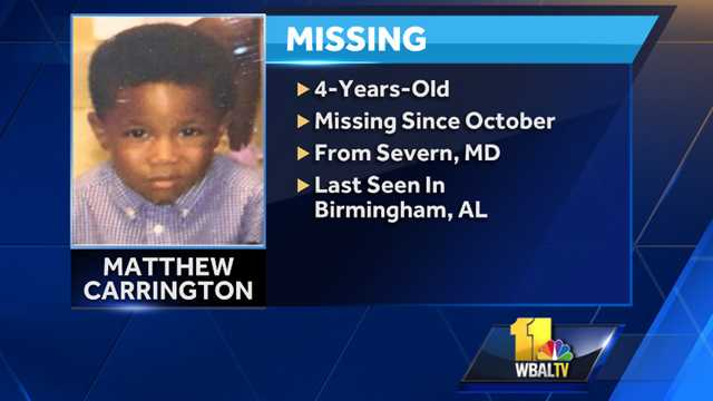 Matthew Carrington missing