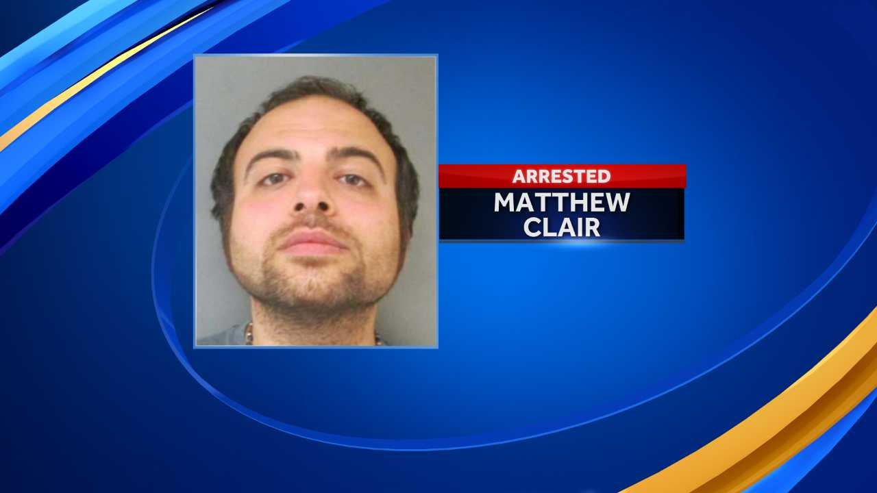 Matthew Clair threatened witness via text