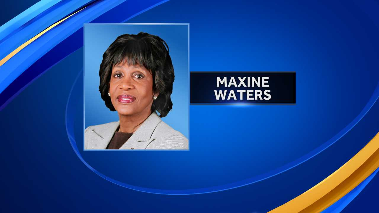 Rep. Maxine Waters says she'll run for president under this one condition