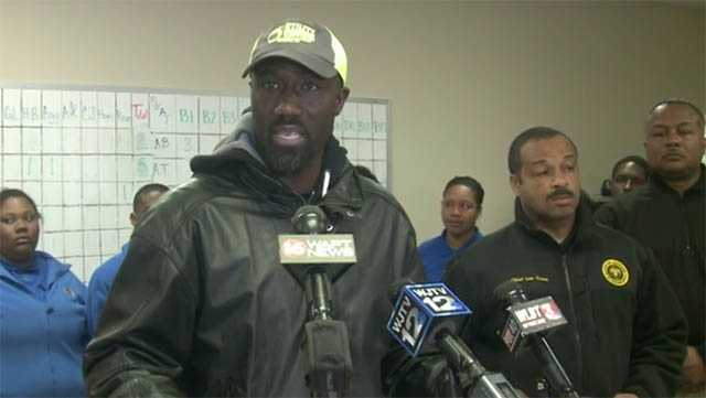 Mayor Yarber water news conference
