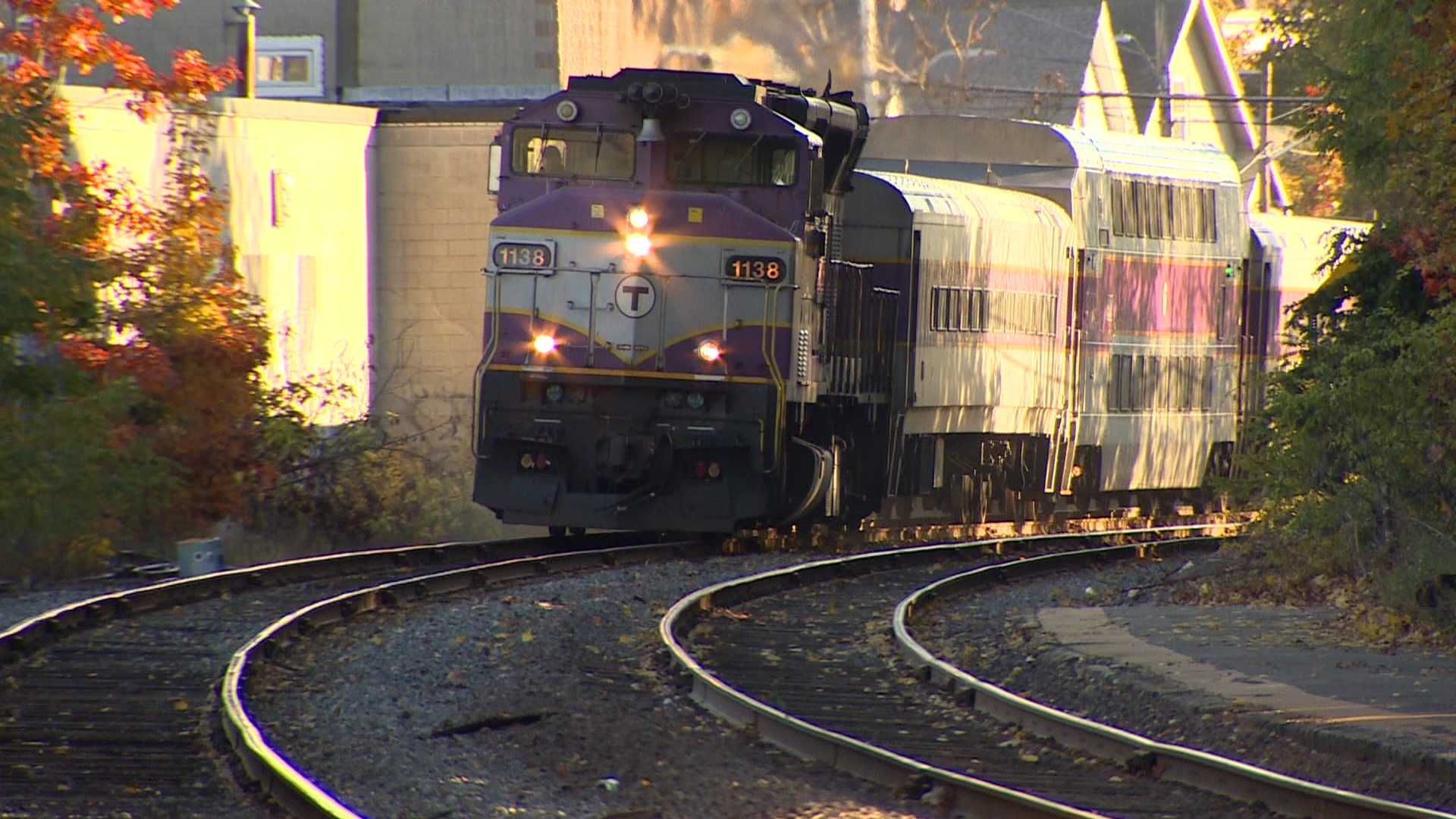 MBTA Commuter Rail Train