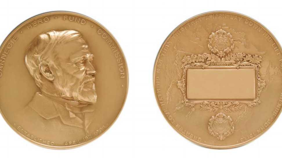 The Carnegie Hero Fund Commission awards the Carnegie Medal to individuals from throughout the United States and Canada who risk their lives to an extraordinary degree saving or attempting to save the lives of others