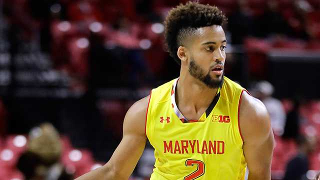 Melo Trimble declared himself eligible for the NBA Draft after three seasons at Maryland.