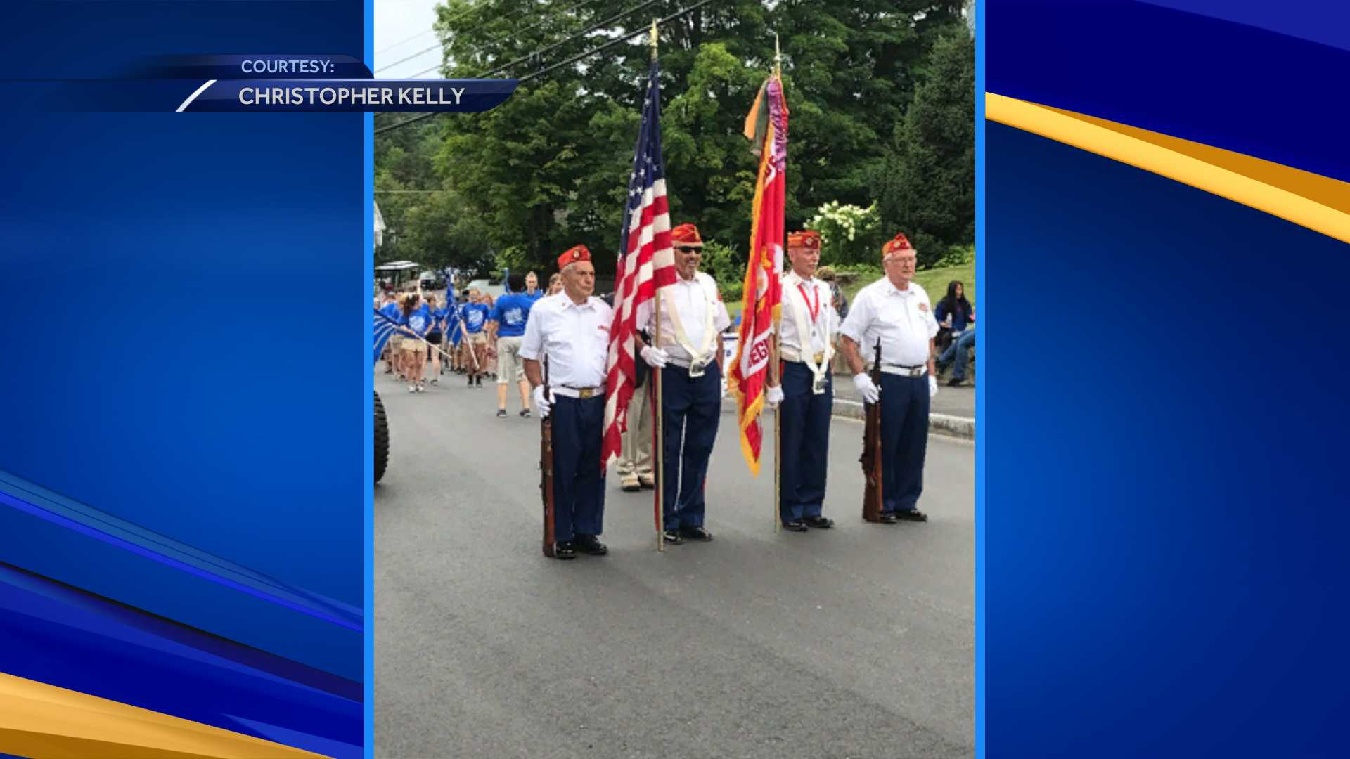 Meredith holds parade to mark town's 250th anniversary