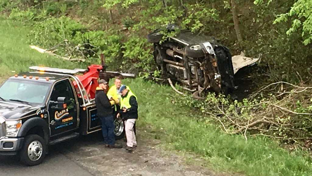I-495 serious injury crash