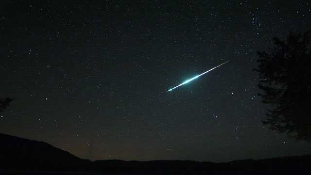 Meteor in Errol NH