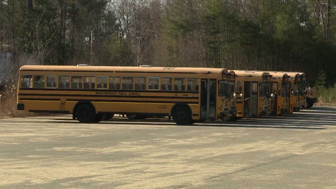 Middleborough school buses
