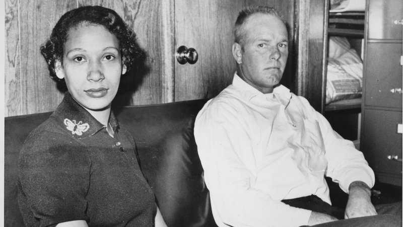 This Jan. 26, 1965 file photo shows Mildred Loving and her husband Richard P Loving. Fifty years after Mildred and Richard Loving's landmark legal challenge shattered the laws against interracial marriage in the U.S., some couples of different races still talk of facing discrimination, disapproval and sometimes outright hostility from their fellow Americans.