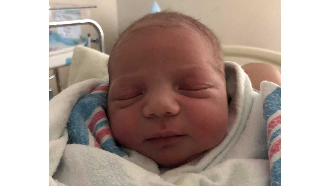 Mike Moustakas new baby, Michael Carter Moustakas