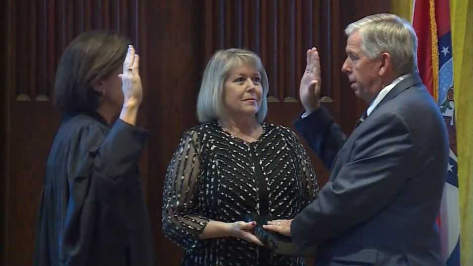 Mike Parson sworn in as Missouri governor