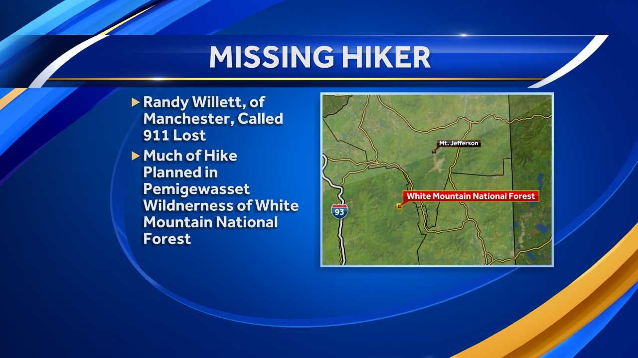 Hiker missing in White Mountain National Forest