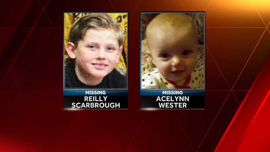 Polk County Sheriff's Office Searching For Two Missing Kids