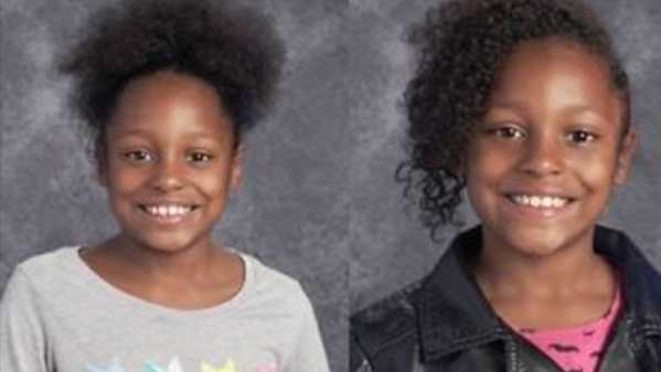 Emotional father reunited with kidnapped twin daughters in Plymouth