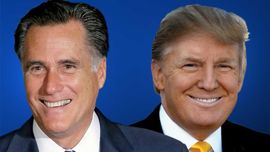 President Donald Trump endorses Mitt Romney for Senate