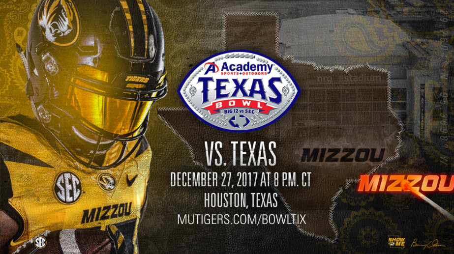 Mizzou to play in Texas Bowl