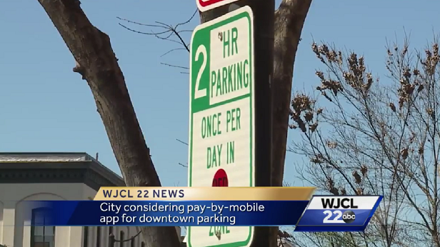 Savannah City Council to consider mobile pay parking app