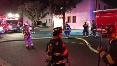 Modesto church security officer finds armed man setting fire to church