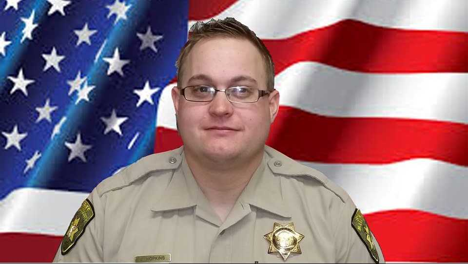 Modoc County Sheriff's Deputy Jack Hopkins was shot and killed on Wednesday, Oct. 19, 2016, the sheriff's office said.