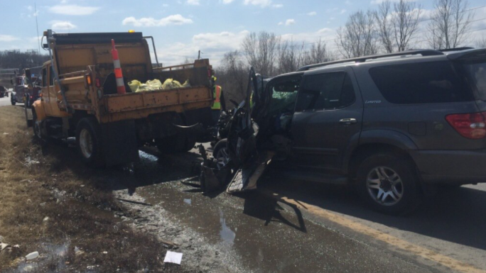 MoDOT truck crash