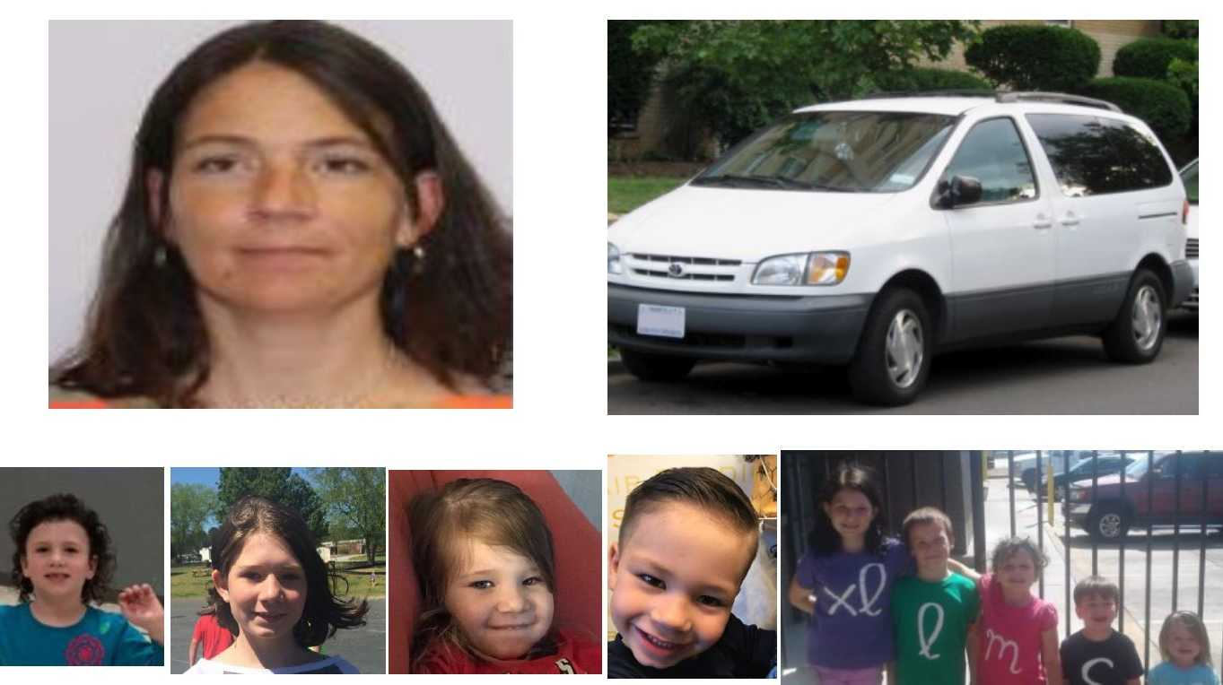 Missing mom, kids in Oconee County