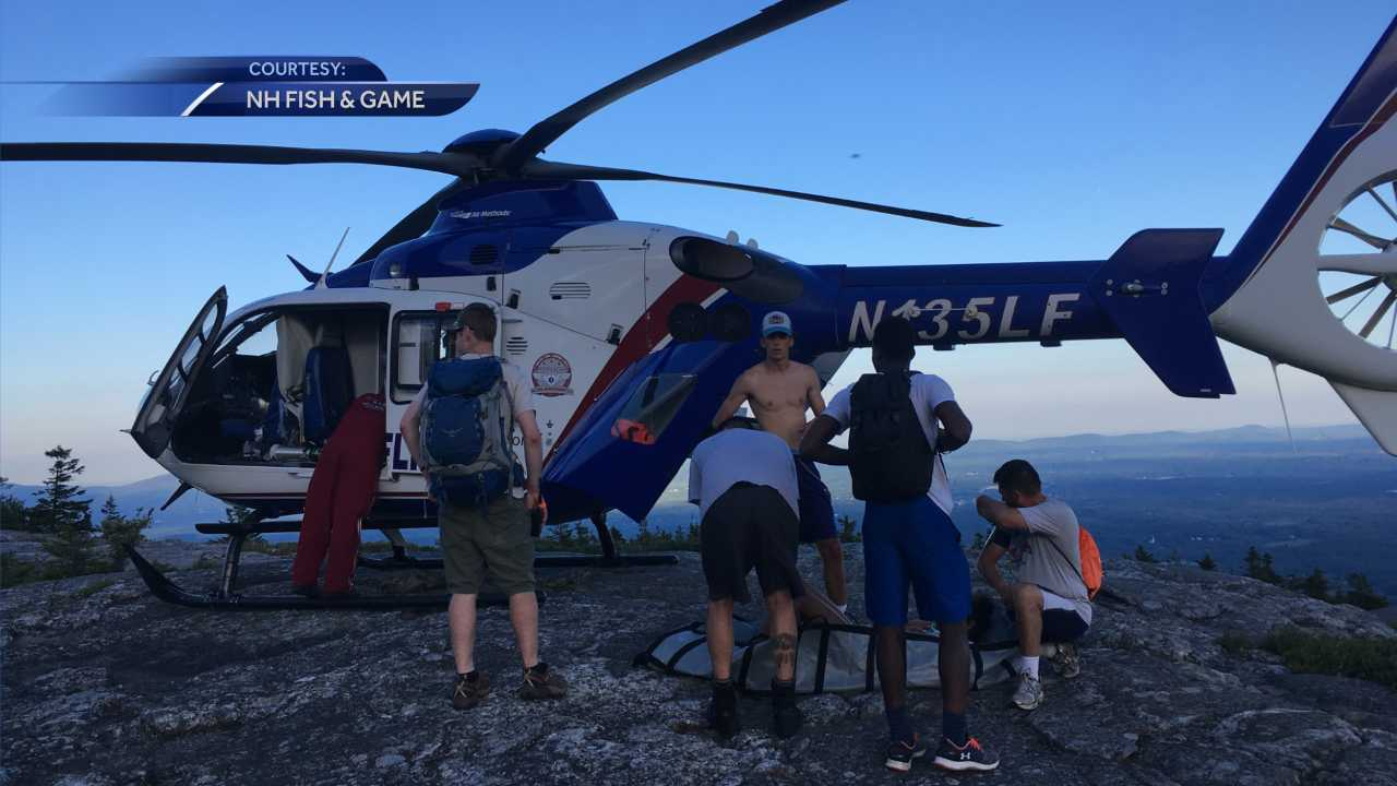 Teen girl rescued from summit of Mount Monadnock