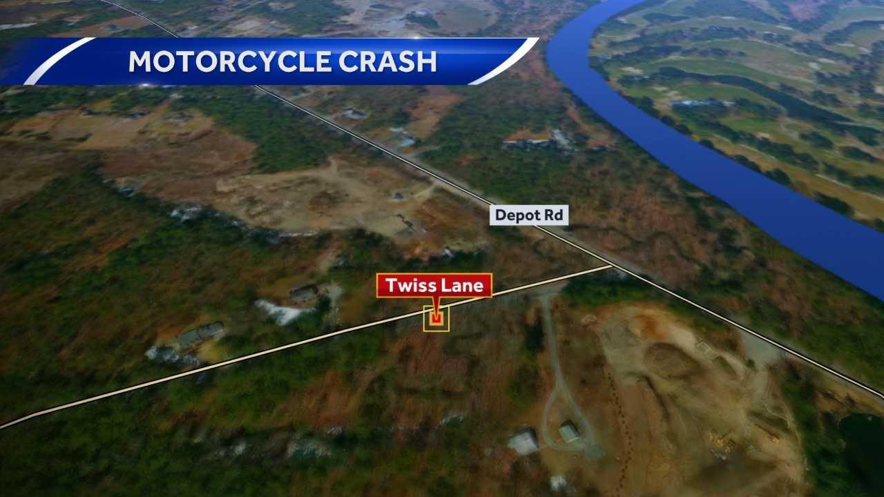 Hollis man hurt in motorcycle crash