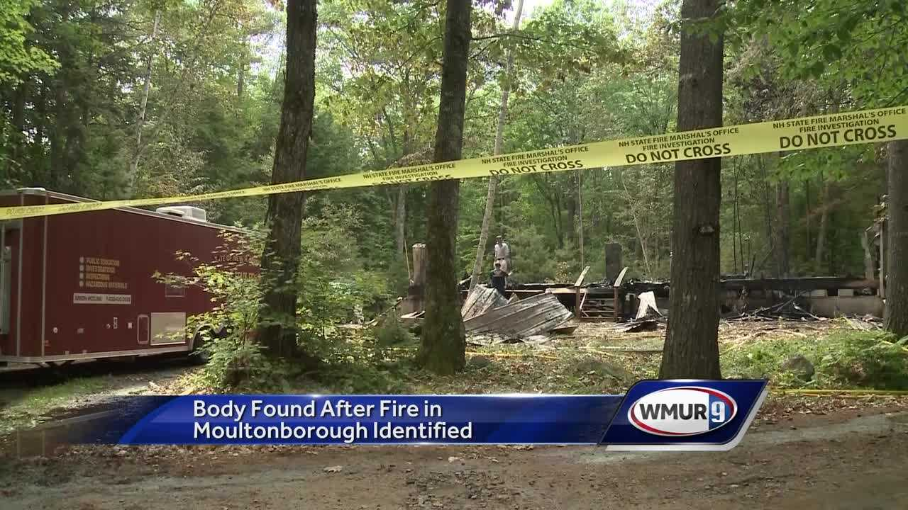 Body found after Moultonborough fire identified