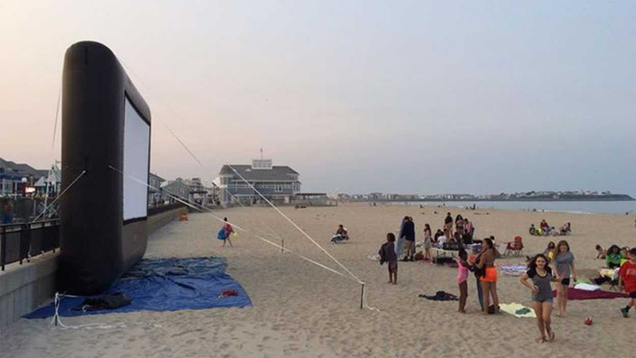 Hampton Beach movie screening